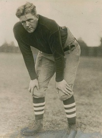Warner called Ernie Nevers (pictured) his greatest player.