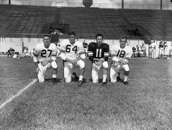 Members of the 1954 Florida State football team