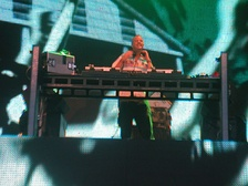 "Cook performing at the first ""Beach Party"" in Portrush, 2006."