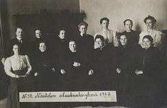 The first female MPs in the world were elected in Finland in 1907