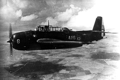 From 1951 to 1956, 164 Grumman Avengers were delivered to French Naval Aviation. They remained in service until 1965.