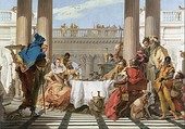 Giovanni Battista Tiepolo, The Banquet of Cleopatra, 1743–44
