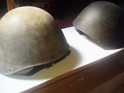 Greek Army Helmets of WW II,private collection