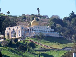 Sikh Center of San Francisco Bay Area, a Sikh Gurdwara in El Sobrante, California.