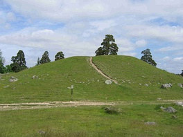 The Håga mound at Uppsala, Sweden is from the Nordic Bronze Age