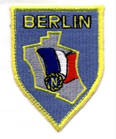 Forces Françaises à Berlin (French Forces in Berlin) insignia after 1949