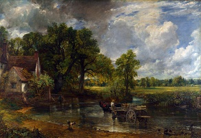The Hay Wain (1821). National Gallery, London