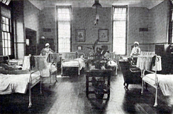 "The ""lying-in"" or post-natal ward c1908"