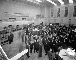 By 1934 the Toronto Stock Exchange emerged as the country's largest stock exchange.