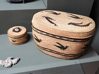 Nootka Makah baskets - Pacific Grove Museum of Natural History