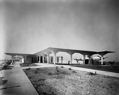 Orange County Airport terminal, circa 1967