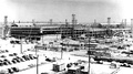 View from northwest with construction underway, July 1942