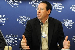 CEO Randall L. Stephenson at the 2008 World Economic Forum