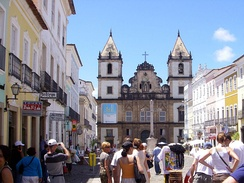 The Historic centre of Salvador, Bahia, was declared a UNESCO World Heritage site in 1985.