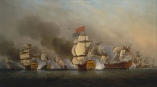 The Battle of Cape Finisterre, 1747