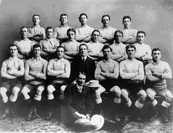 The first New South Wales team to go to Queensland in 1910.