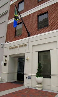 Tanzanian Embassy in West End, Washington, D.C., USA.