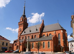 Polish Gothic-styled Cathedral located in the Old Town district