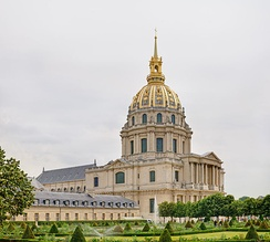 The Hôpital des Invalides in Paris is a hospital and retirement home for French war veterans
