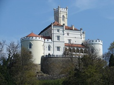 Trakošćan Castle is one of the best preserved historic buildings in the country.[262]