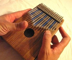 A traditional polyrhythmic kalimba