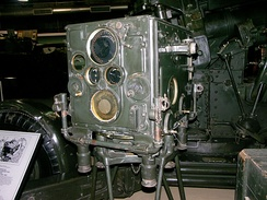 A No.1 Mark III Predictor that was used with the QF 3.7 inch AA gun