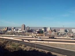 Skyline of Albuquerque
