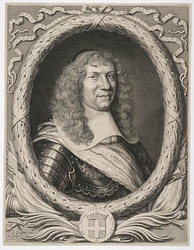 In 1666, Alexandre de Prouville de Tracy led a French force of 1,300 men to attack Mohawk villages in New York.