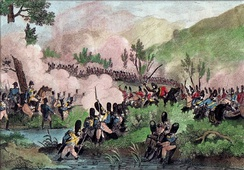 The Battle of Caldiero, 1805