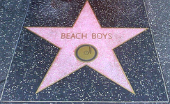 The Beach Boys' star on the Hollywood Walk of Fame, located at 1500 Vine Street[398]