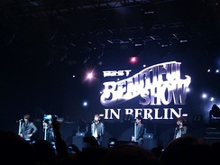 Beast performing at the Beautiful Show in Berlin