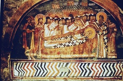 Burial of Sava II, Patriarchate of Peć.