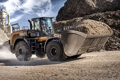 CASE 1021G Wheel Loader.