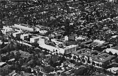 The campus in 1944