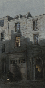 The house in Maiden Lane where Turner was born, c.1850s