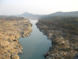 The Damodar in its upper reaches