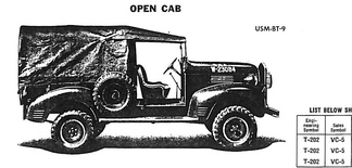 1940 Dodge VC-5 Open Cab pickup — the classic bucket seats attempted to keep occupants on board