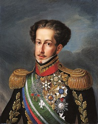 King-Emperor Pedro IV & I planned and launched his campaign in the Liberal Wars from the Azores in name of his daughter Queen Maria II.
