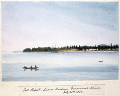 Fort Rupert, Vancouver Island, 1851
