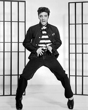 Publicity photos for Jailhouse Rock
