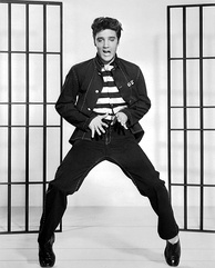 "American singer Elvis Presley is known as ""King of Rock and Roll"" or simply ""the King""."