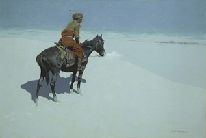 The Scout: Friends or Foes?, 1902–1905, oil on canvas, Sterling and Francine Clark Art Institute, Williamstown, Massachusetts