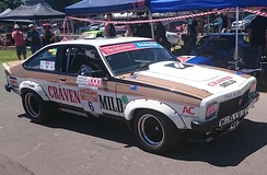 Grice drove a Holden LX Torana SS A9X for Craven Mild Racing from 1977 to 1980. (Car pictured in 2015)