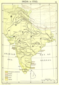 By the year 1690, the realms of the Mughal Empire spanned from Kabul to Cape Comorin.[17]