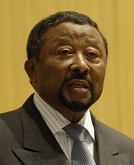 Jean Ping, Gabonese politician who narrowly lost in the controversial Gabonese presidential election, 2016. Ping's father is Chinese.
