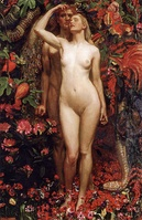 The Woman, the Man, and the Serpent by Byam Shaw, 1911
