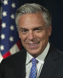 Huntsman's official photograph during the Trump Administration