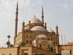 The Mosque of Muhammad Ali in Cairo.