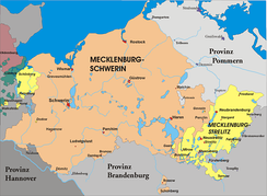 Mecklenburg after the third partition of Mecklenburg