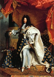 Louis XIV, by Hyacinthe Rigaud, 1701